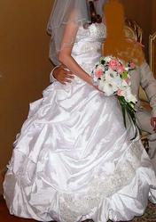 Продам свадебное платье! размер 42-44