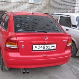 Продаю автомобиль Opel Astra g, спорт