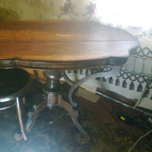 Стол и 2 стула 1910 год (Германия)