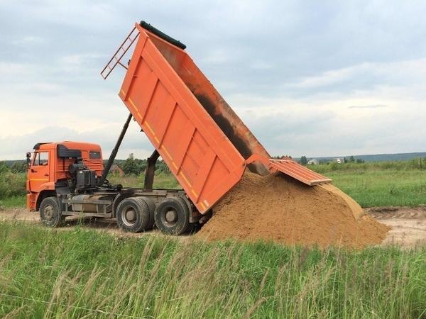 Песок,  щебень ПГС с доставкой 3