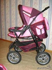 Продаю детскую коляску зима-лето, трансформер